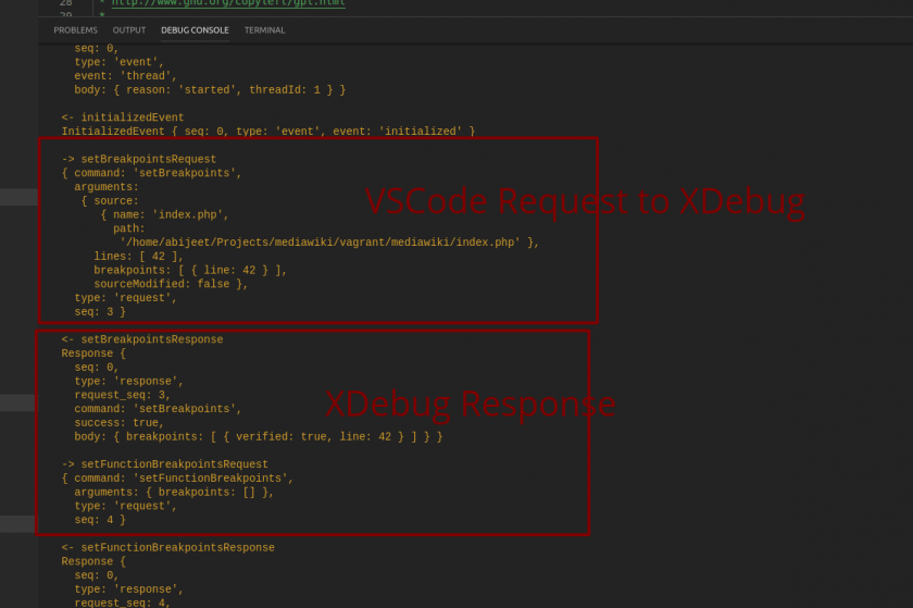 XDebug Logs from VSCode